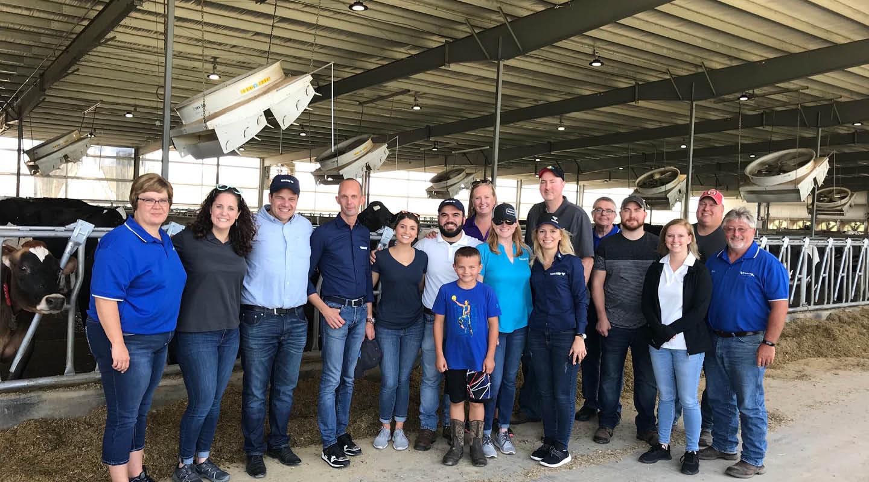 Team at Dairy Farm