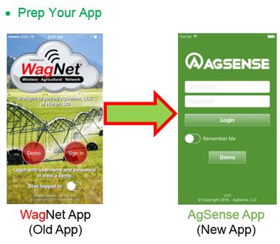 New Agsense App