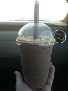 The best chocolate shake EVER!
