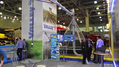 Valley at Russia's Agrosalon 201