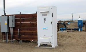 Valley Water Management installation