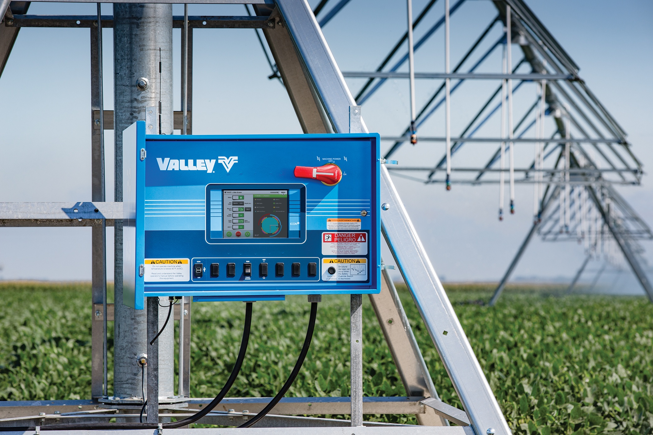 Introducing Valley ICON and the ICON10 Control Panel for Irrigation.