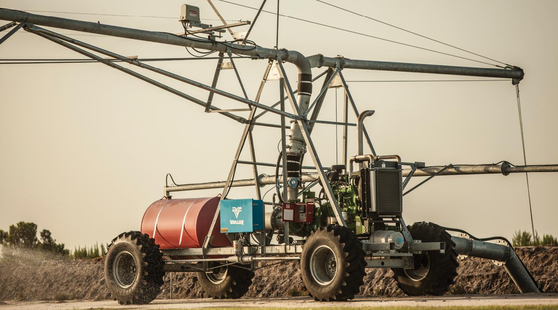 linear irrigation machine