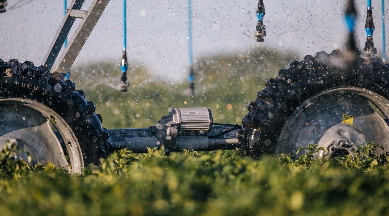 potatoes - center pivot control irrigation products
