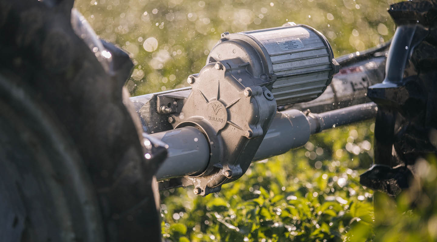 valley is - strength in the field - center pivots irrigate