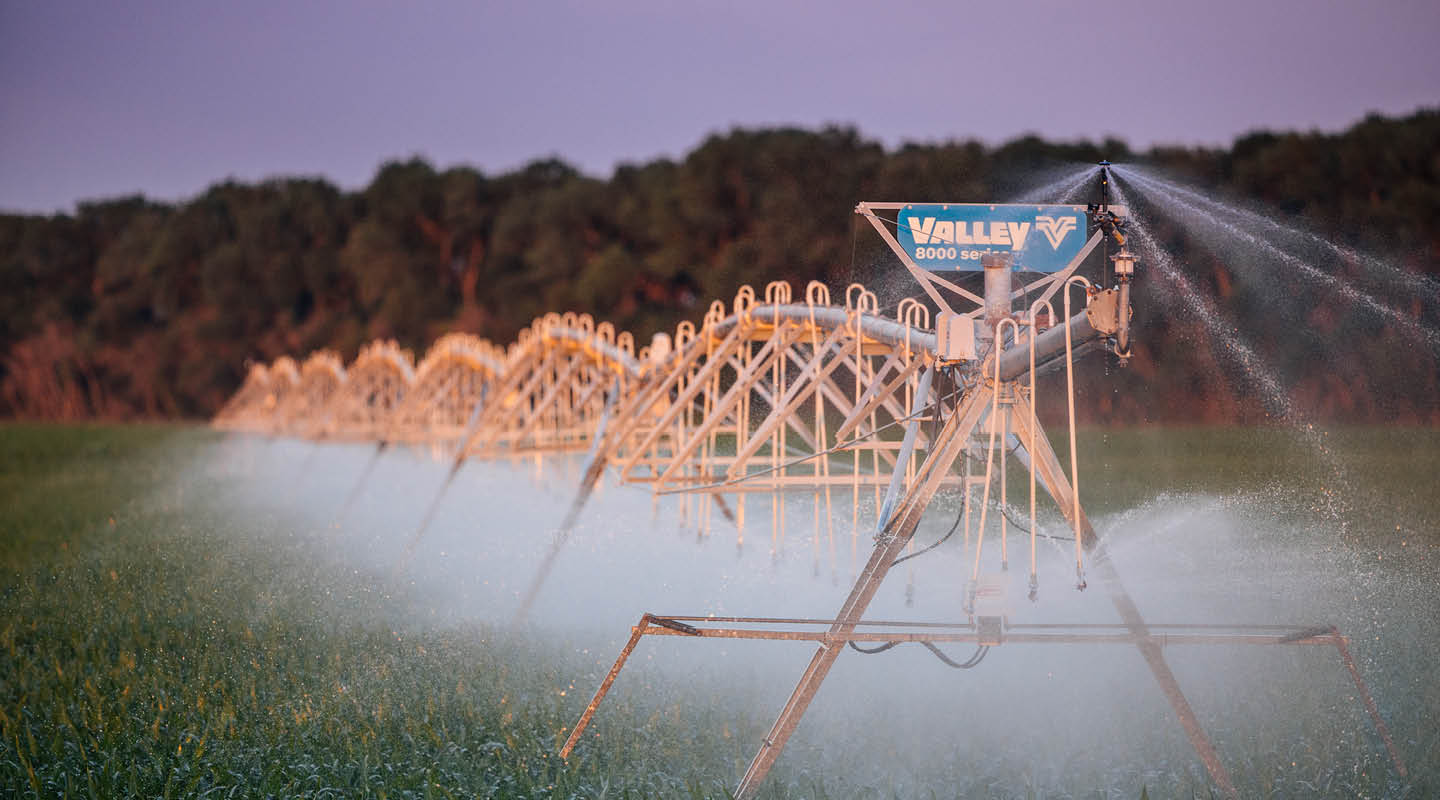 valley is - second to none - center pivots irrigater